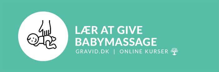 Lær at give babymassage