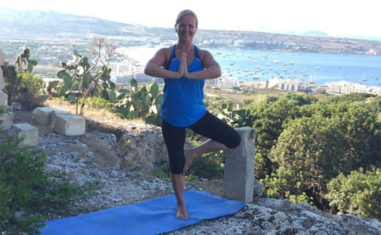 Yoga for gravide
