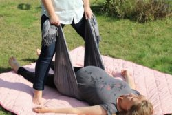 Rebozo massage